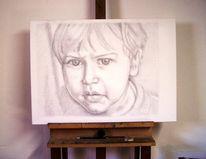 Kind, Portrait, Menschen, Zeichnungen