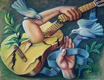 Hände, Menschen, Fantasie, Malerei