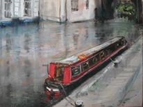 Camden, Fluss, Schiff, London
