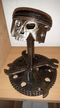 Metallkunst, Kolbenfresser, Albuch, Brenz