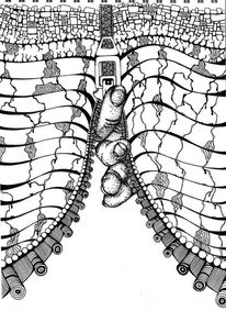 Hand, Schwarz weiß, Reißverschluss, Zeichnungen