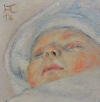Jung, Hoffnung, Portrait, Baby