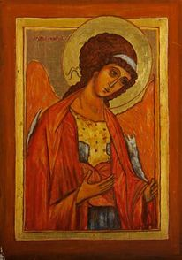 Erzengel michael, Heiliger erzengel michael, Orthodox, Deesis
