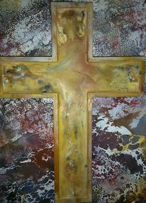 Enkaustik, Erlöser, Wachs, Jesus christus