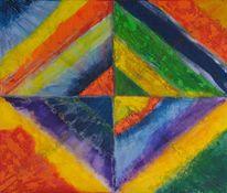 Farben, Blau, Gelb, Kandinsky