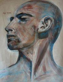 Mann, Selbstbewußtsein, Bewusstsein, Glatze
