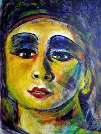 Portrait, Auftritt, Gelb, Rampenlicht