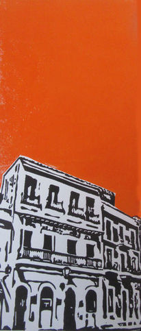 Linoldruck, San juan, Hochdruck, Karibik