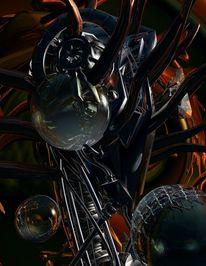 Digital, Fantasie, Digitale kunst, Abstrakt