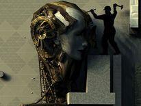 Maskerade, Digital, Schöpfung, Gedanken