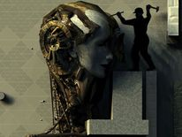 Digital, Portrait, Maskerade, Schöpfung
