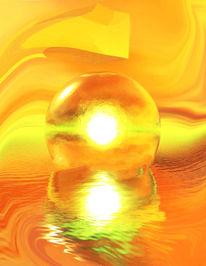 Heilung, Energie, Innere weisheit, Digitale kunst
