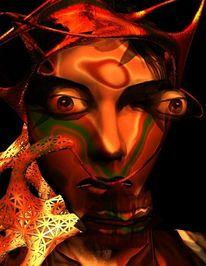 Philosophie, Gothic, Ego, Digital art