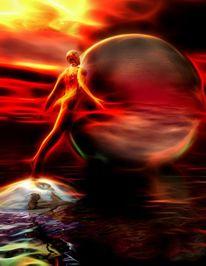 Seele, Göttlich, Unio mystica, Krieg