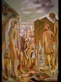 Fantasie, Ölmalerei, Malerei, Mutter