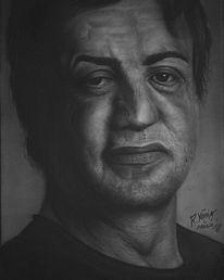 Stallone, Acrylmalerei, Rocky, Sylvester