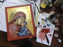 Religion, Heilige anna, Ikonen, Malerei
