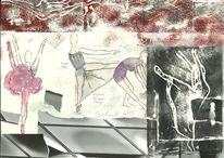 Malerei, Bewegung, Zeichnung, Tanz