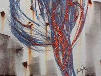 Kopfidee, Ipad, Abstrakt, Malerei