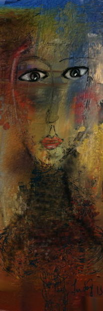 Abstrakt, Sehnsucht, Malerei