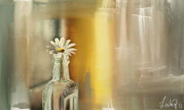 Gänseblümchen, Malerei, Blumen,
