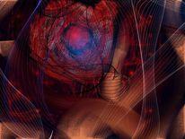 Explosion, Malerei