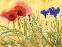 Feldblumen, Digitale kunst