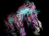 Hund, Surreal, Digital, Apophysis