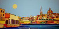 Sliema, Manoel island, Valletta, Malerei