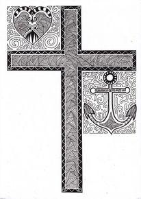 Illustrationen, Glaube, Liebe, Hoffnung
