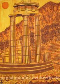 Orakel, Berge, Historie, Delphi