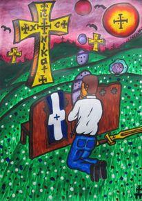 Bank, Sehnsucht, Religion, Gebet