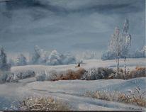 Winterlandschaft, Winter, Kalt, Glitzern