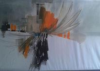 Farben froh, Farben, Acryl auf leinwand, 2013