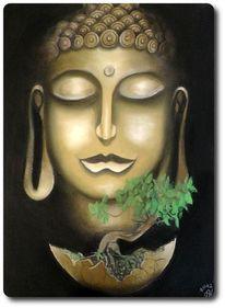Spirituell, Stille, Pflanzen, Ei