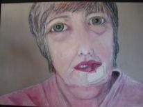 Ölmalerei, Verletzung, Mutter, Malerei