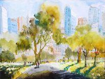 Natur, Park, Baum, Stadt