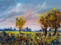 Herbst, Landschaft, Natur, Wiese