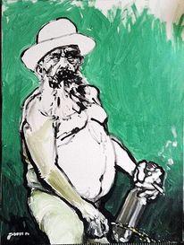 Kunstausstellungen, Pinkel, Monet, Portrait