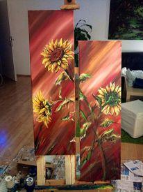 Blumen, Sun flower, Sonne, Pflanzen