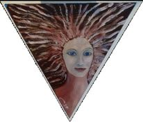 Dreieck, Frauenbildnis, Morgenröte, Aurora