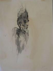 Aquarellmalerei, Malerei, Sturm, Gedanken