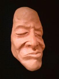 Figur, Keramik, Maske, Plastik