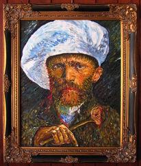 Vincent van gogh, Van kogh, Selbstportrait, Malerei