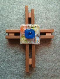 Fusing, Glaskreuz, Kreuz, Kunsthandwerk