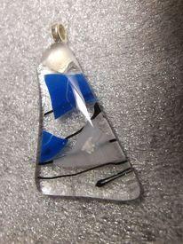 Schmuck, Fusingglas, Glasobjekt, Fusing