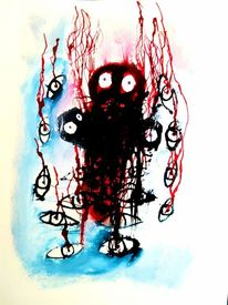 Psychiatrie, Outsider art, Artbrut, Malerei