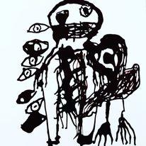 Artbrut, Kuckucksnest, Outsider art, Malerei