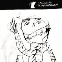 Artbrut, Outsider art, Psychiatrie, Druckgrafik
