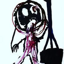 Augen, Outsider art, Hände, Malerei